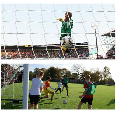 S M L Football Soccer Goal Post Nets Sports Training Match Replace (Only Net)