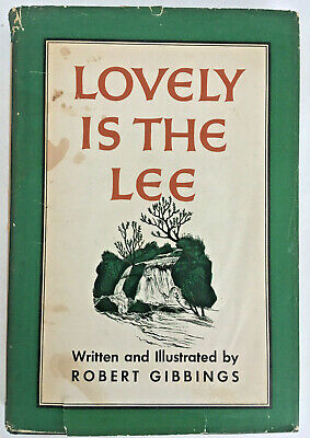 vintage Irish stories 1945 Lovely Is The Lee ROBERT GIBBINGS 1st Ed VG charming!