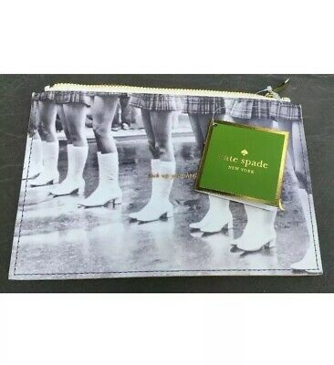 """kate spade new york """"Kick Up Your Heels"""" Retro Pencil Pouch!  New With Tags!"""
