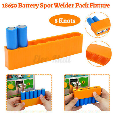 18650 Battery Fixture Spot Welding Clamp Fixation Mold Holder 6 Section