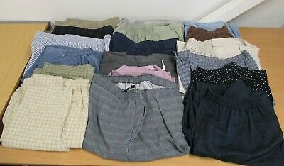 18 Pairs Ladies M & S Trousers, Size 18, Mixed Lot of Marks & Spencer Trousers