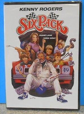 Six Pack (DVD, 2012) VERY RARE 1982 RACING COMEDY KENNY ROGERS BRAND NEW