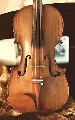 Fine Antique Old French 4/4 Violin by J. Thibouville-Lamy - Strad Model c.1890