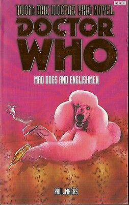 OOP  Paperback Book - DOCTOR WHO - MAD DOGS AND ENGLISHMEN - Paul Magrs - BBC