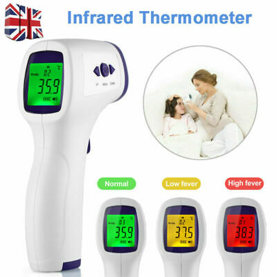 IR Infrared Digital Termometer Non-Contact Forehead Thermometer Body Baby Adult