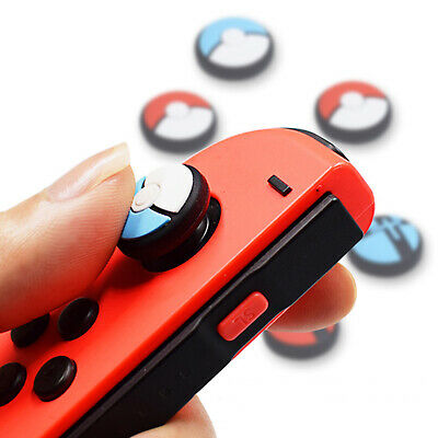 Protective Replace Analog Thumbstick Grip Caps Cover Set for Switch Lite&Joy-Con