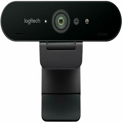 Logitech BRIO Ultra HD Webcam for Video Conferencing Recording and Streaming.