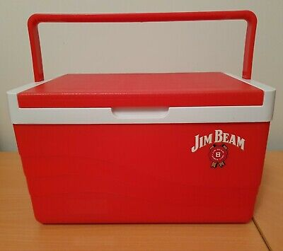 Jim Beam Esky Red Cooler small size fits 6 Cans