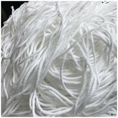 3mm Round Elastic Band Cord Ear Hanging Sewing Crafts DIY Material 10m Length US