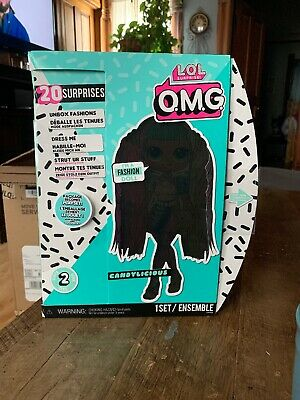 LOL Surprise OMG Series 2 Candylicious Fashion Doll Brand New Sealed