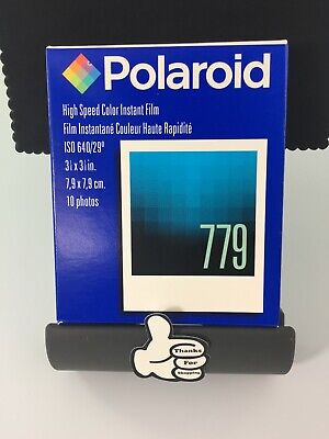Polaroid High Speed Instant Film 779 10 Photos Per Pack New Expired 11/03 Sealed