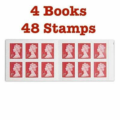 4 Books New First 1st class Stamps Royal Mail First Class Self Adhesive Stamp