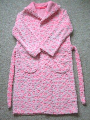 """GIRLS DRESSING GOWN, AGE 9/10 yrs. """"MARKS & SPENCER"""" VGC"""