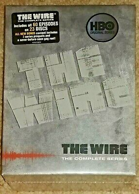 The Wire - The Complete Series (23 DVD Gift Box Set) - Brand New Factory Sealed