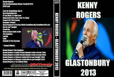 KENNY ROGERS Live At Glastonbury (2013) DVD