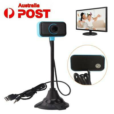 HD USB 2.0 Web Cam Camera Webcam for Computer PC Laptop Desktop Adjust Clip-On