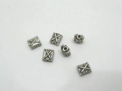 200Pcs Metal Spacer Beads 6x9mm Jewelry Finding
