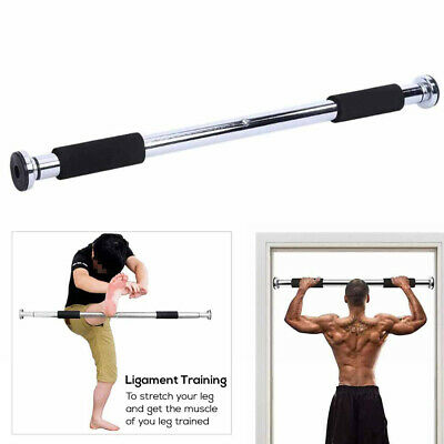 New Adjustable Pull up Bar Gym Exercise Training Chin up Fitness Door Wall