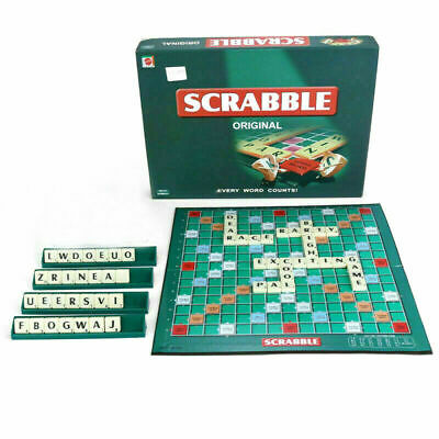 Scrabble Board Game Family Kids Adults Educational Toy Puzzle Portable Game Toy
