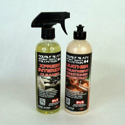 P&S Interior Kit Leather & Vinyl Treatment Conditioner & Xpress Interior Cleaner