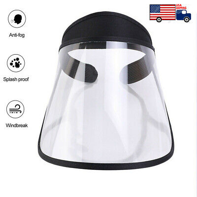 Professional Clear Full-Face Shield Protection Transparent Protective Safty US