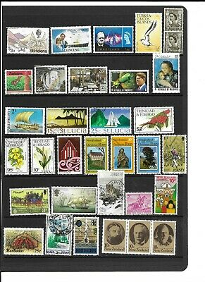 Commonwealth QE2 used and m/mint collection