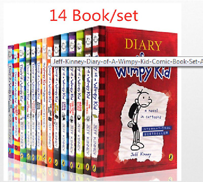 Diary Of A Wimpy Kid 1-14 Books Set By Jeff Kinney best collection ( p-d-f )