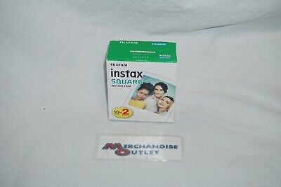 FujiFilm Instax Square Instant Film 2 Pks x10 Sheets (Exp7/2021)*See Description