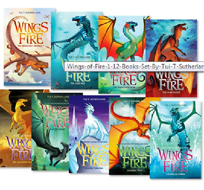Wings Of Fire 1-12 Books Set By Tui T. Sutherland best collection ( p-d-f )