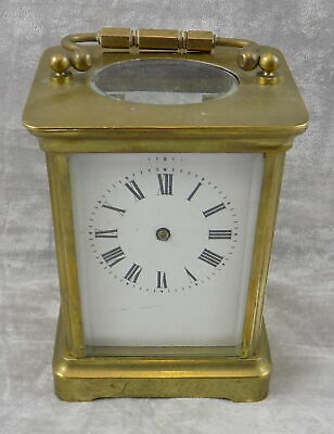 French Antique Carriage Clock For Spares Or Repair