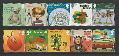 GB 2017 Classic Toys Stamps MNH