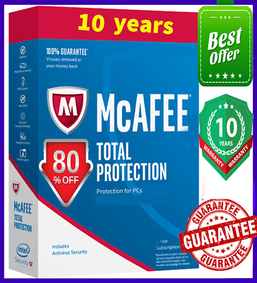 McAfee Total Protection 2020 1️⃣ Device🔟 YEAR🔥 Antivirus fast dєlivery 📩
