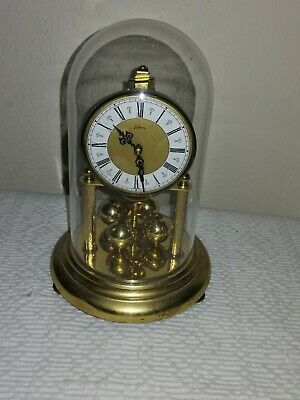 Kern Miniature Anniversary Clock, KuS M1V Movement, Needs Attention.