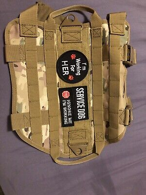 Small Dog Tactical Harness