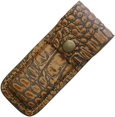 Sheaths--Leather Belt Sheath Alligator