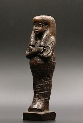 Rare Egypt Egyptian Antiques Ushabti Hatshepsut Queen Statue Carved Stone Bc