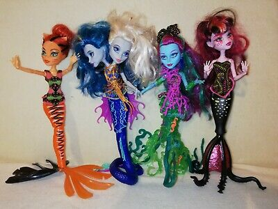 Monster High Bulk Great Scarier Reef. SLIMY SIRENS & SCRAPPY SEAWEED NOT WANTED!