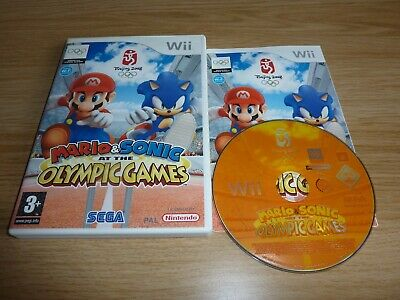 MARIO & SONIC AT THE OLYMPIC GAMES NINTENDO Wii / Wii U GAME