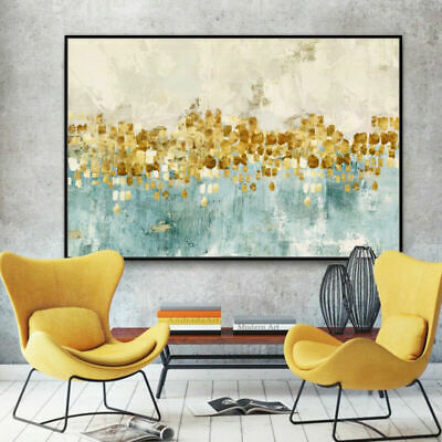 """Large Modern Abstract oil painting 100% Hand-painted on canvas No Frame 48"""""""