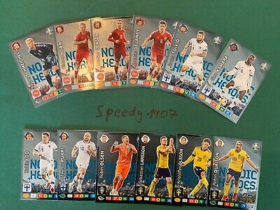 Panini Adrenalyn Euro 2020 Limited Edition All 12 Nordic Heroes 20 Olsen Pukki
