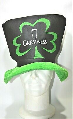 "GUINNESS BIERE Chapeau ""Greatness St Patrick day  2009 "" NEUF"