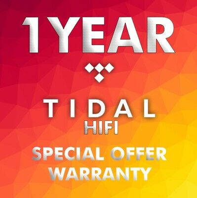 Tidal Hi-Fi 1 Years/ 12 Months - Family plan - Worldwide - Fast delivery
