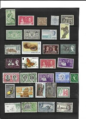 Commonwealth QV to QE2 used and m/mint collection  all different