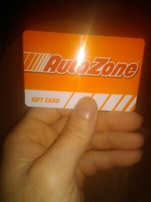 Autozone Merchandise Credit Gift Card $200.00 (Value In Store Only)