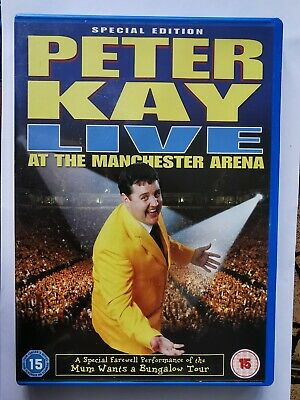 Peter Kay Live at Manchester Arena Special Edition DVD