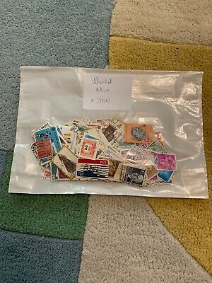 300 World Postage Stamps, All Different, Used - NO GB