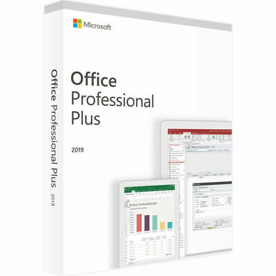 Microsoft Office Professional Plus 2019 for Windows 10 (T5D-03085)