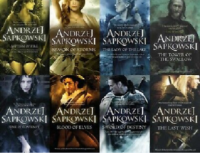 The Witcher Complete Series Andrzej Sapkowski include best collecion P.D.F