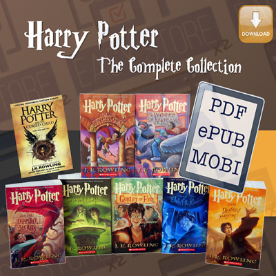 Harry Potter Series Complete e- Book Collection 📚 + Bonus 🎁 (Fast delivery)