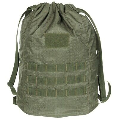 MFH Skout MOLLE Shoulder Bag Army Camping Travel Photo DSLR Camera Pack OD Green